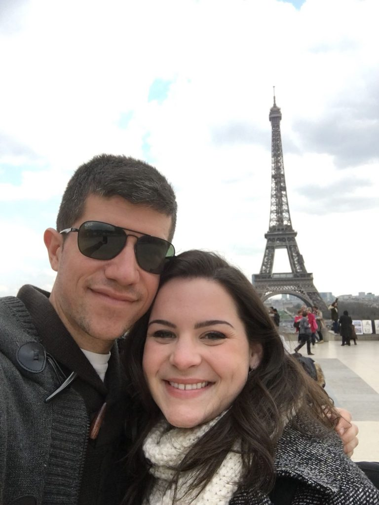 Nuestro primer viaje a París